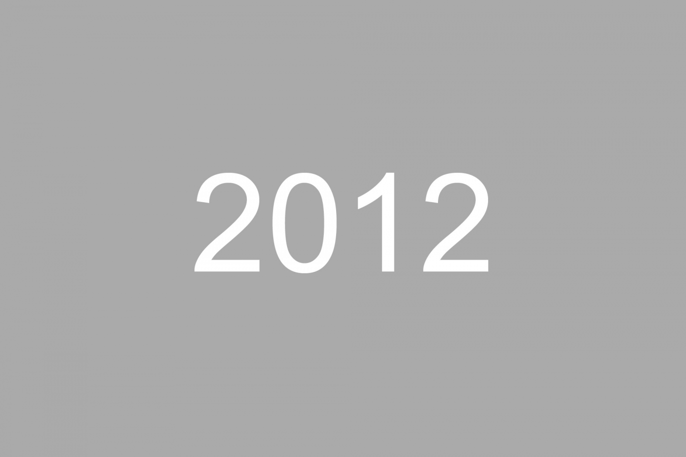 2012 News Archive