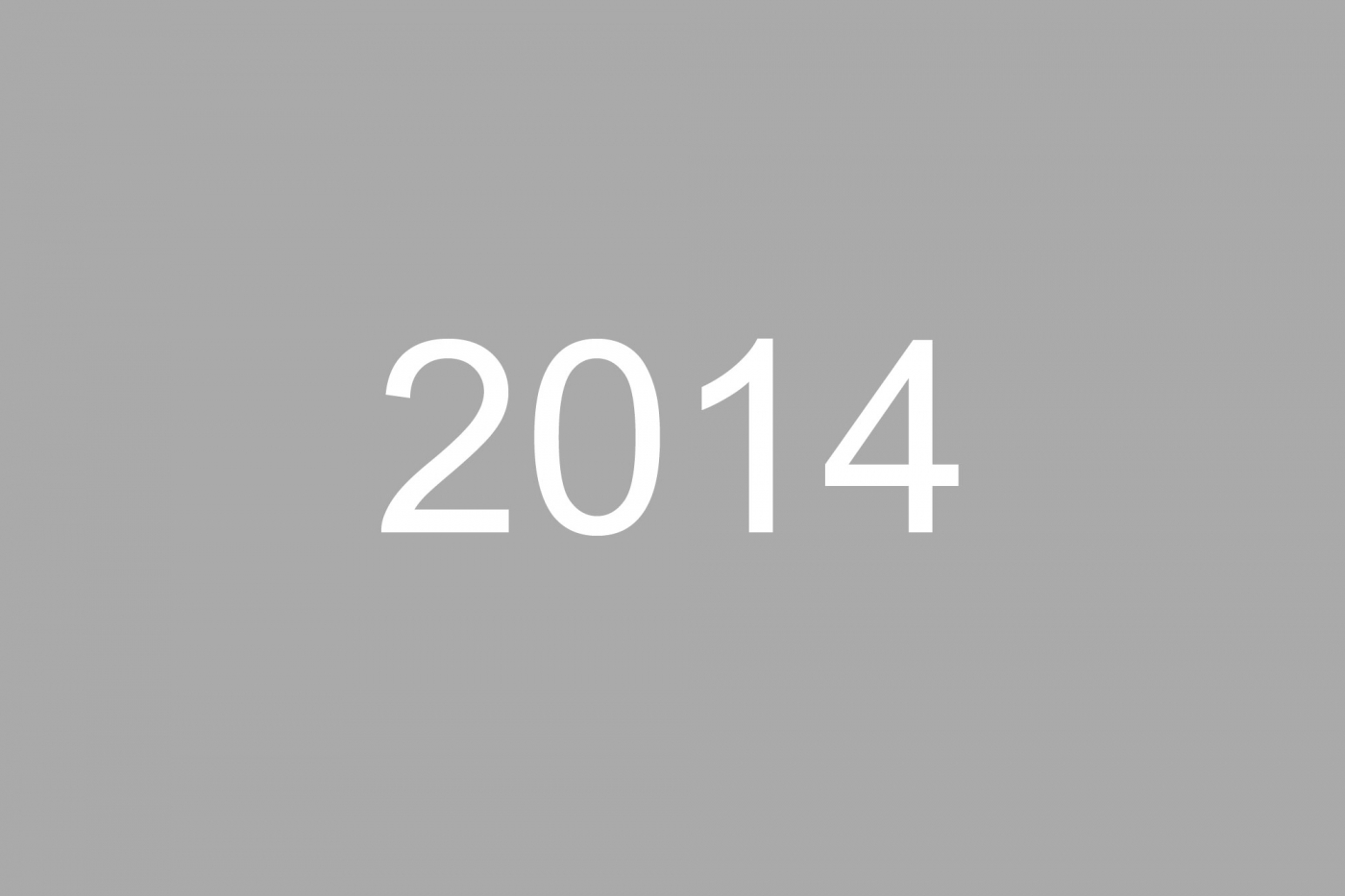 2014 News Archive