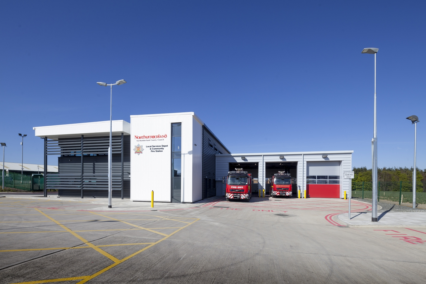 NCC Fire & Rescue completed and open to serve