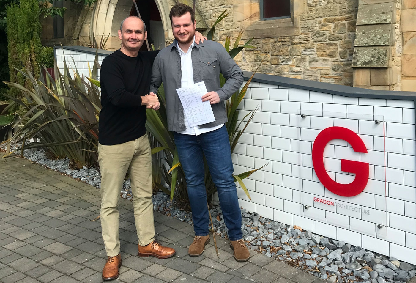 Connor Newton receives First Class Honours Degree!