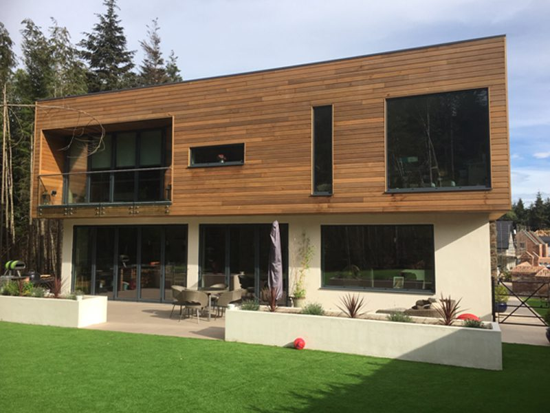 """From RIBA 0-7 """"Brief to In Use""""…Groom Residence completed"""