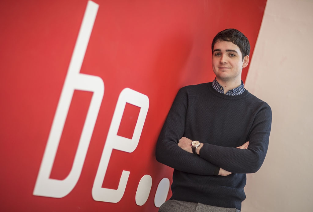 Aidan's building a great career through an architecture apprenticeship