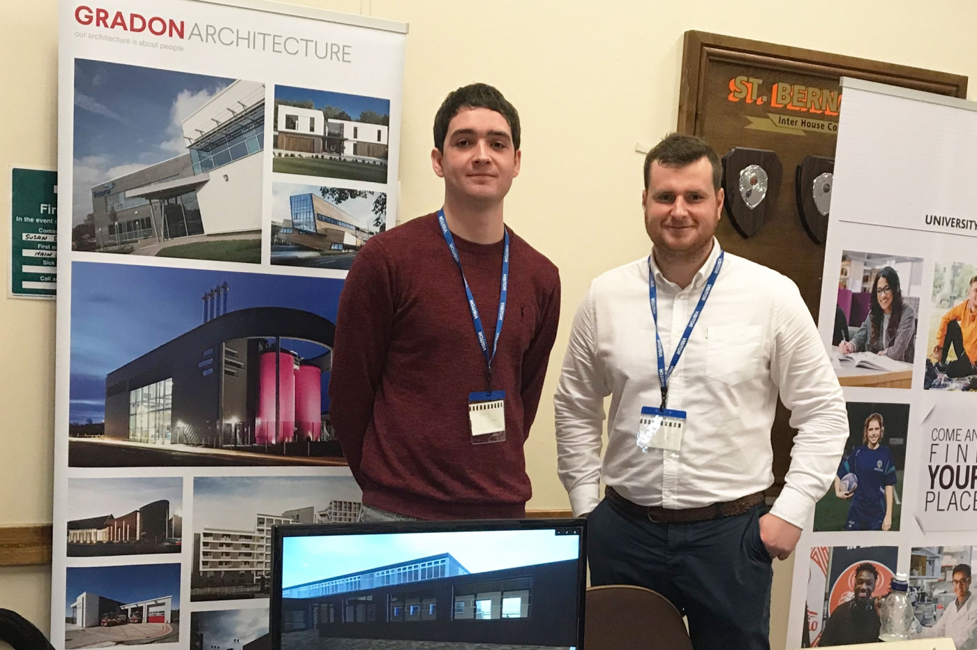 Success at the St. Thomas More Careers Fair 2019…