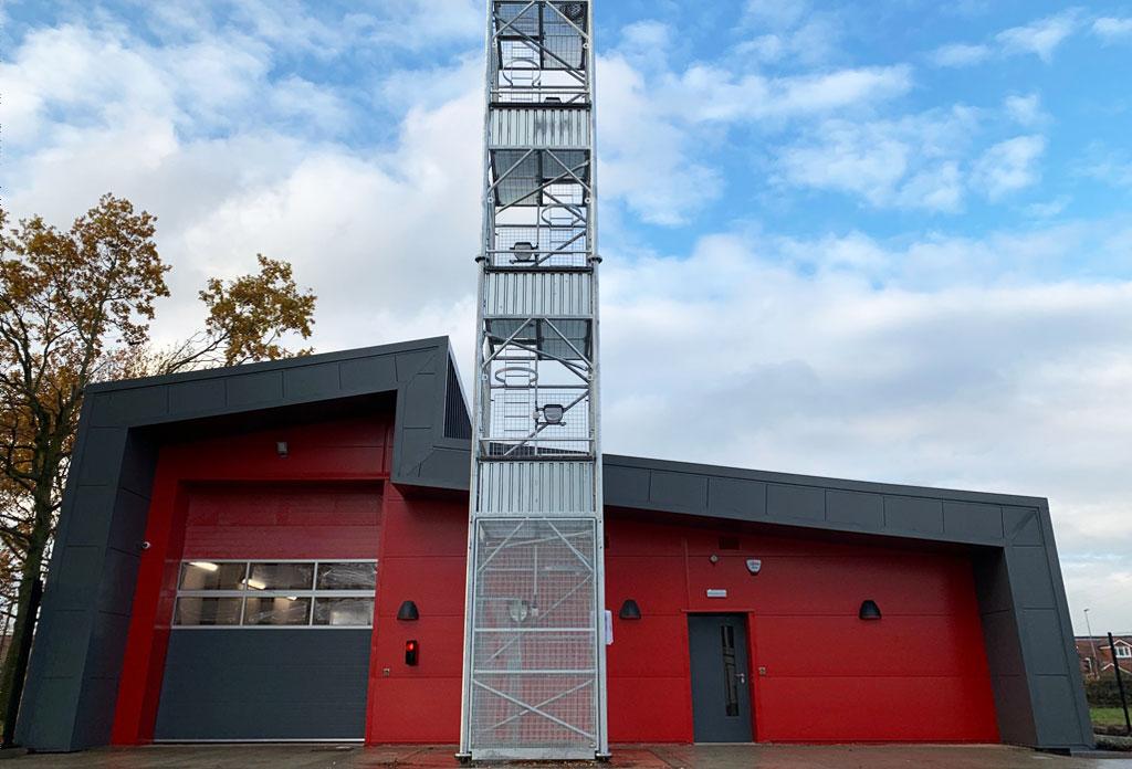 Ponteland Fire Station completed as part of £42m Ponteland Regeneration Scheme…