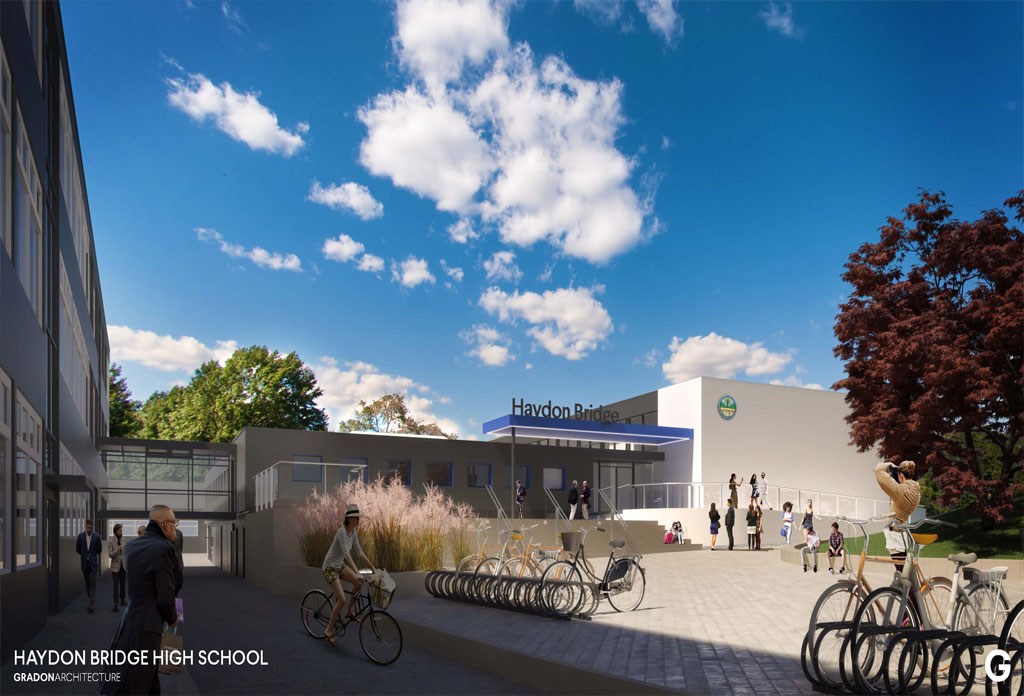 Haydon Bridge High School gains planning approval!