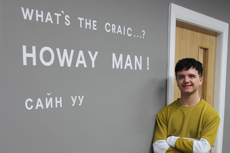 Jordan Barrow joins our Derry Studio