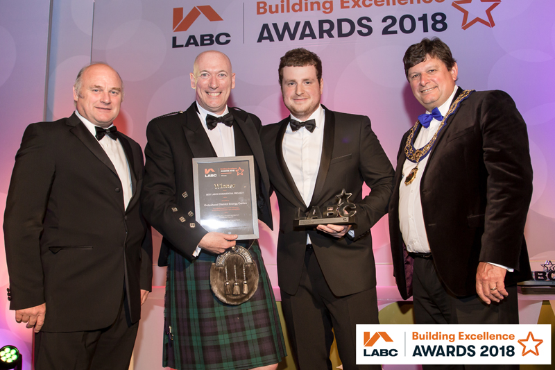 Gateshead Energy Centre wins Best Large Commercial Project Award