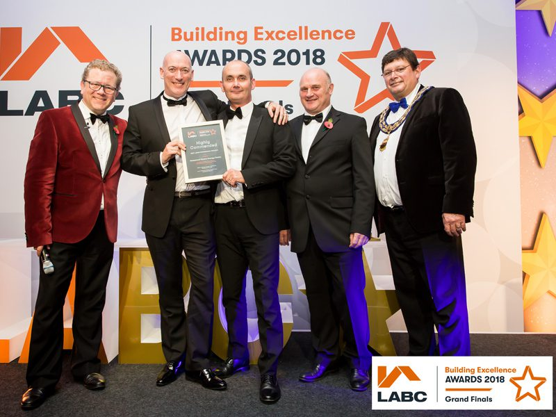 Gateshead Energy Centre is Highly Commended at National LABC Awards