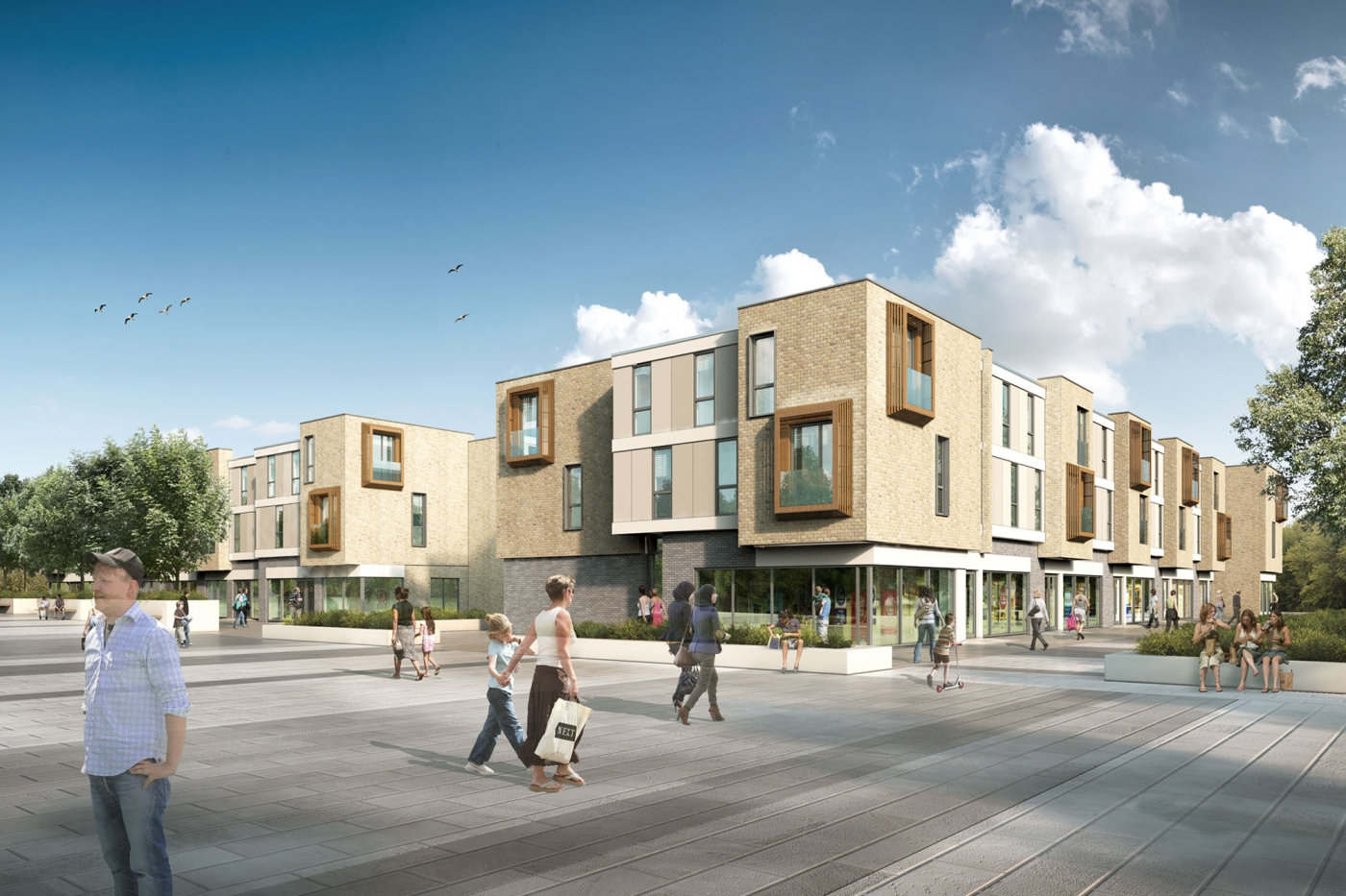 Affordable housing at NGP gains planning approval