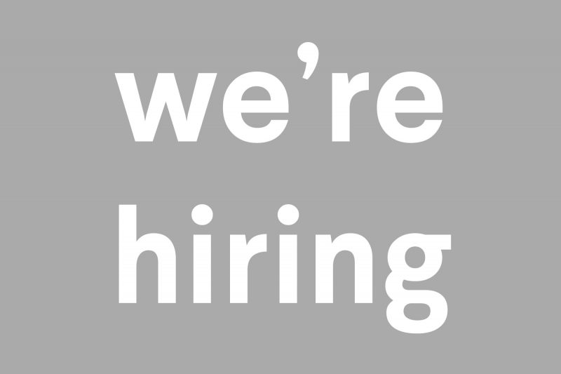 We're hiring…would you like to join our team in Derry?