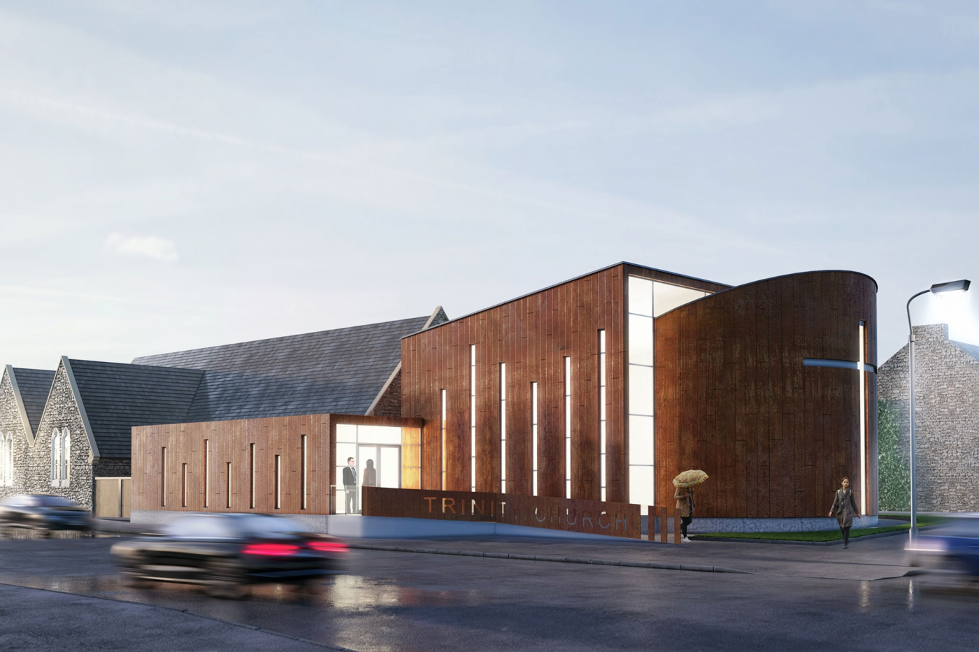 Trinity Church submitted for planning