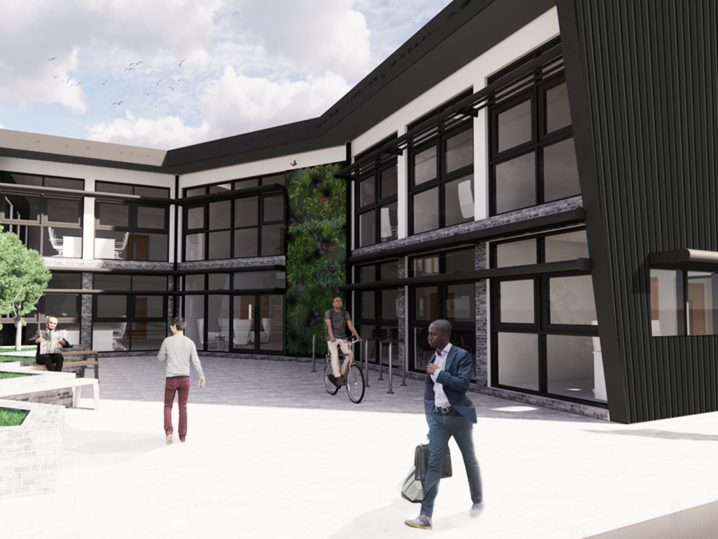 Concept Designs started for new sustainable office development