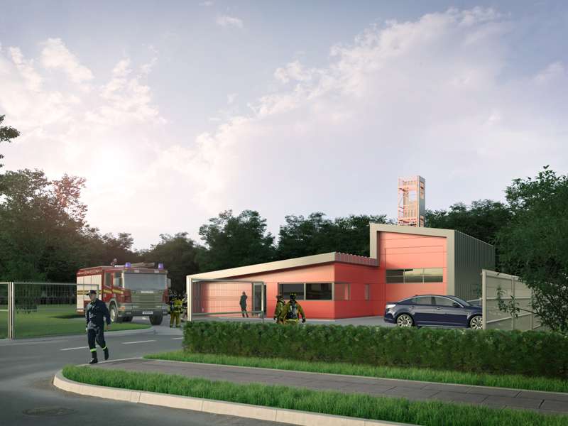 Kier win at Ponteland sees new community fire station come to life!