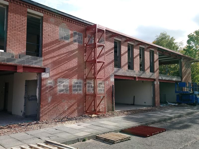 Enterprise House on site…