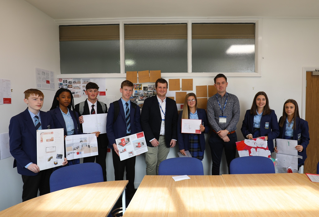 Success for Pupils at Careers Fair Design Competition….