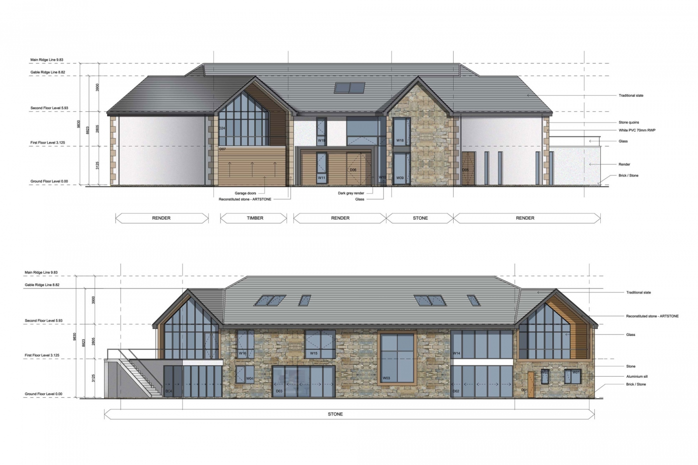 A Bespoke Wynyard Home submitted for planning